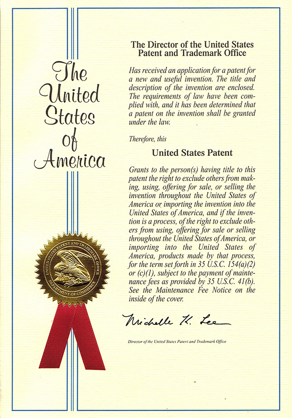 US PATENT & TRADEMARK